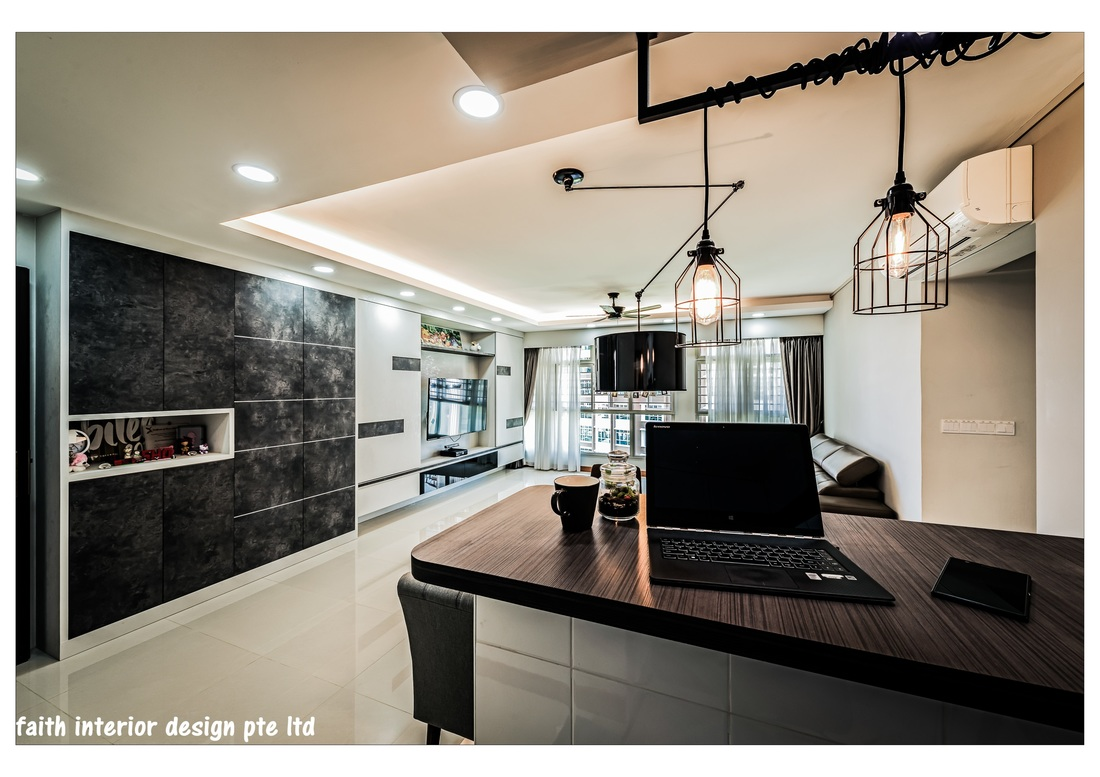 Foyer Design Hdb : Hdb bto standard flat home renovation interior